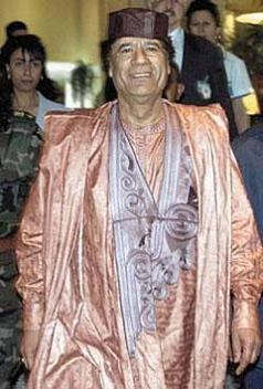 qaddafi shawl