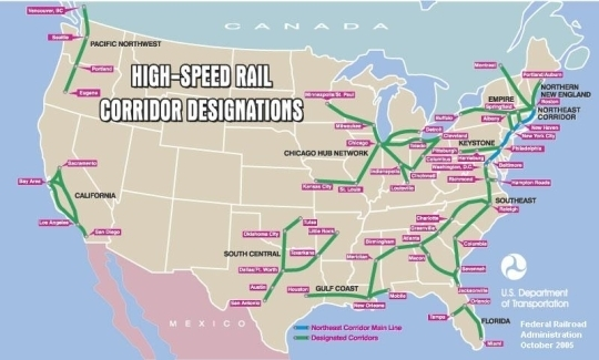 HighSpeed Rail Getting Back on Track
