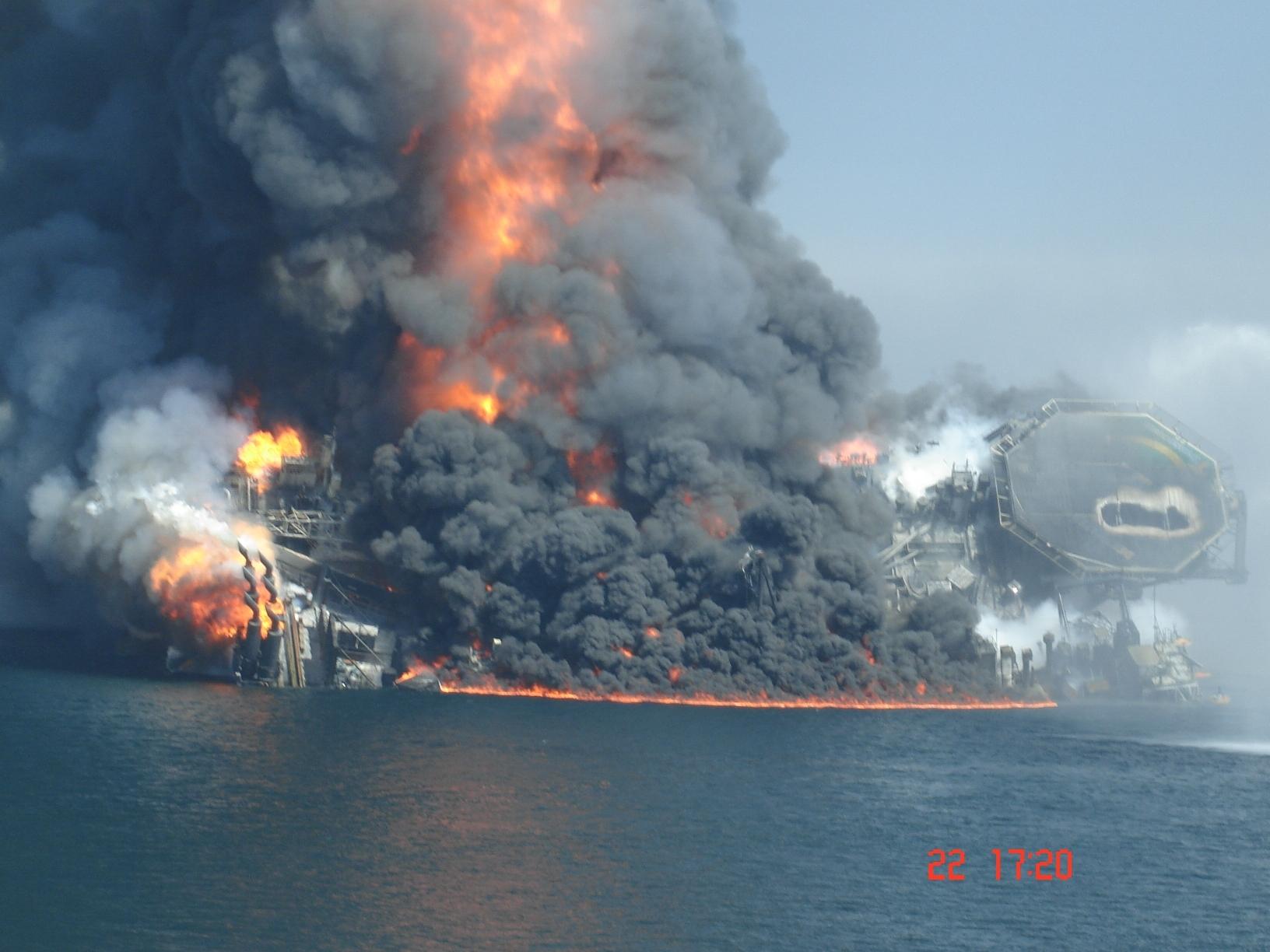 bp oil rig