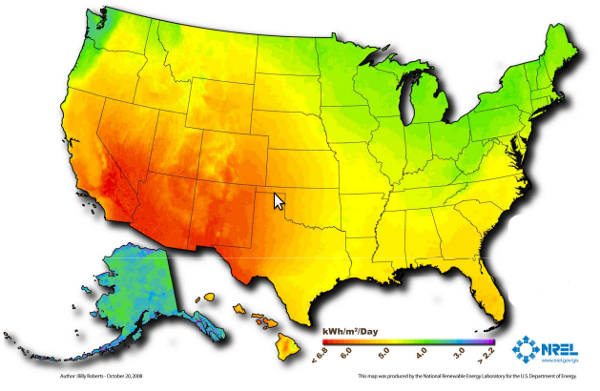 The Status of Renewable Energy in the United States