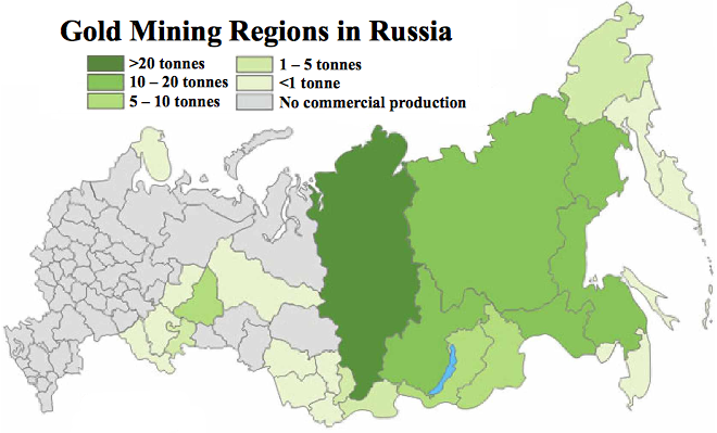Top five russian gold stocks russia gold mining regions gumiabroncs Choice Image