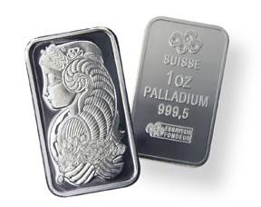 2010 palladium bars