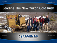 yukon gold stocks kam september 2010