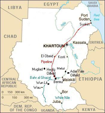 Natural Resources Found In Sudan