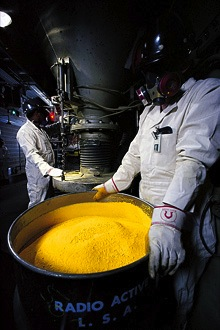 mar 2011 uranium yellowcake