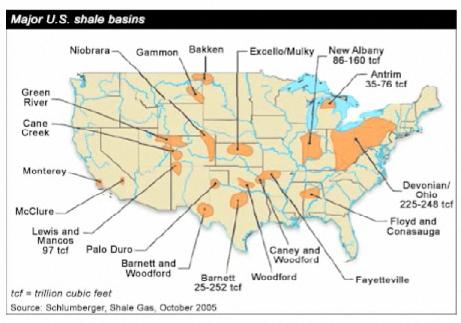 u.s. shale basins