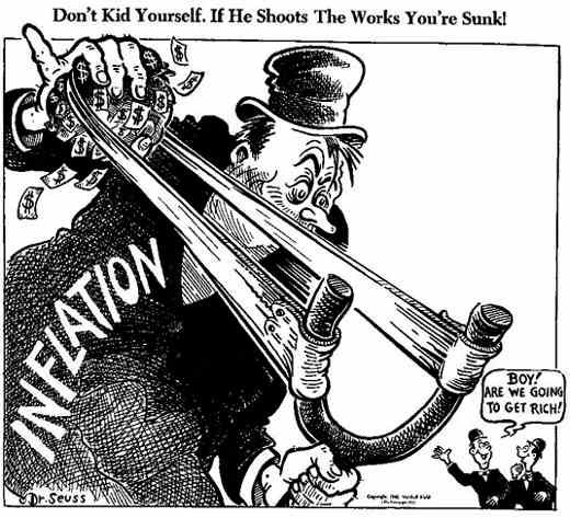 Image result for inflation cartoon seuss