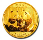 dec 2010 china gold coin