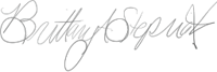 Brittany Stepniak Signature