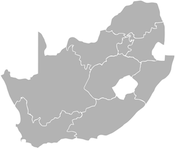 july 2011 south africa map