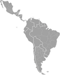 july 2011 latin america map