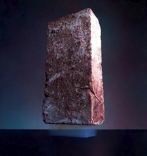 Aerogel supporting a brick