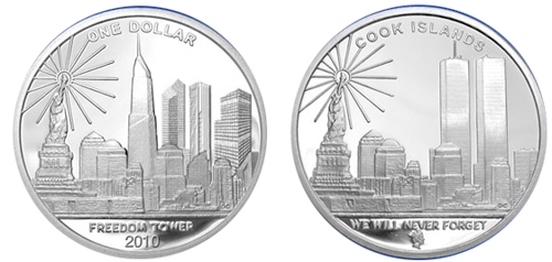 july 2011 freedom tower silver coin