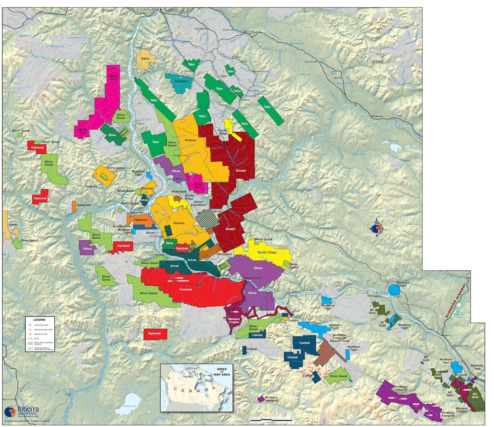 july 2011 yukon map one