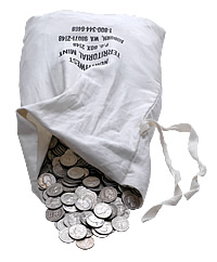 july 2011 junk silver bag