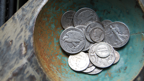 august 2011 junk silver coins