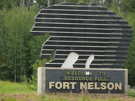 fort nelson welcome