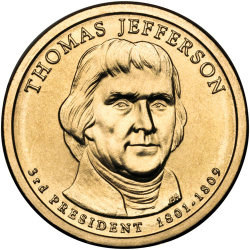 thomas jefferson coin