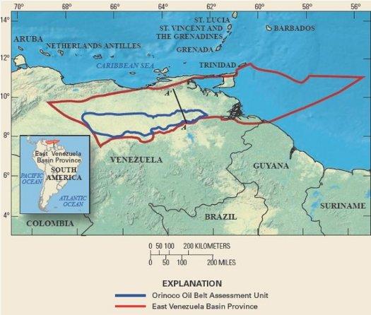 orinoco belt map 6-22