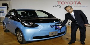 Toyota (NYSE:TM) Scraps Electric Car
