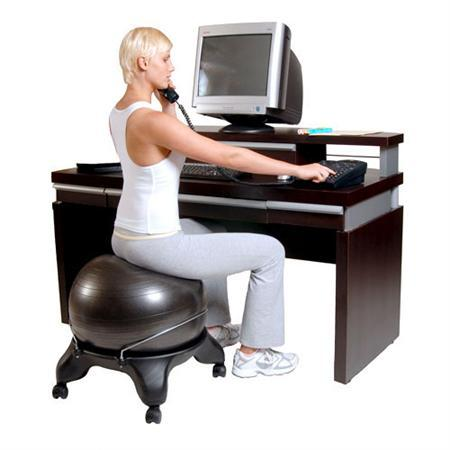 Exercise Ball Chair Base Is Your Desk Destroying Your Body?