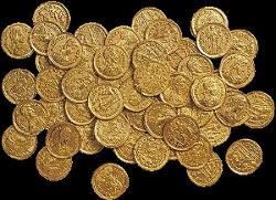 Roman Gold Coin Hoard