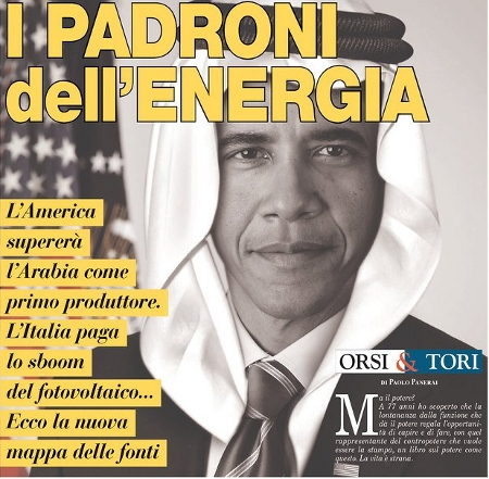 Obama as Oil Sheik