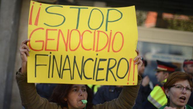 finance genocide