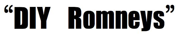 DIY Romneys