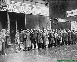 great depression line