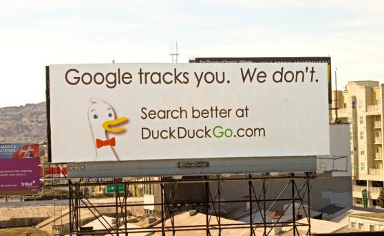 duckduckgo advertisement