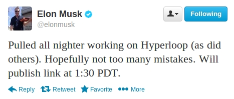 hyperloop announced