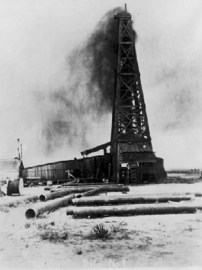 oil derrick 1923