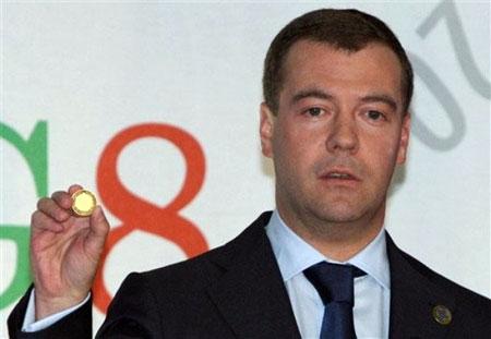 Medvedev Holding Global Currency