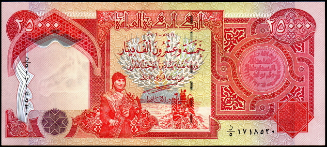 The Iraqi Dinar without Saddam