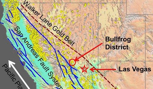 Bullfrog Gold District Nevada