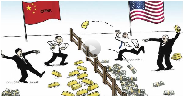 China's Loading Up on Gold