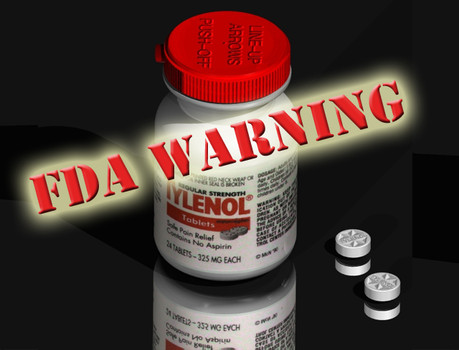 WARNING: FDA Changes Prescription Recommendations for Acetaminophen