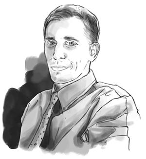 Jeff Siegel Sketch Drawing