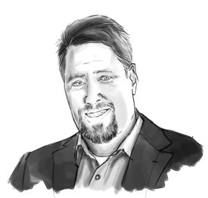 Christian DeHaemer Sketch Photo