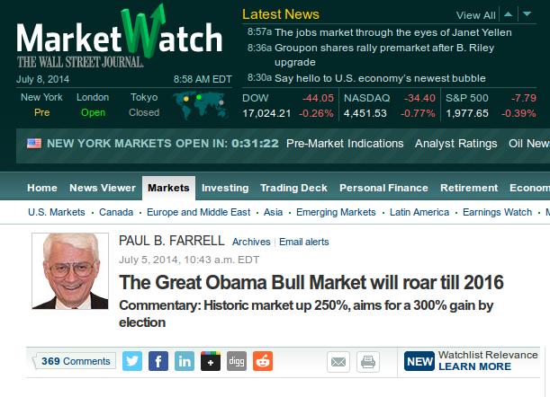 Obama Bull Market