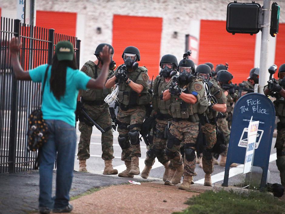 Ferguson Police Militarization 2