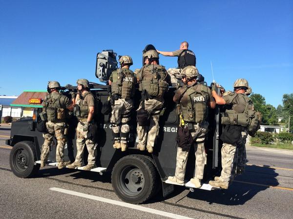 Ferguson Police Militarization 3