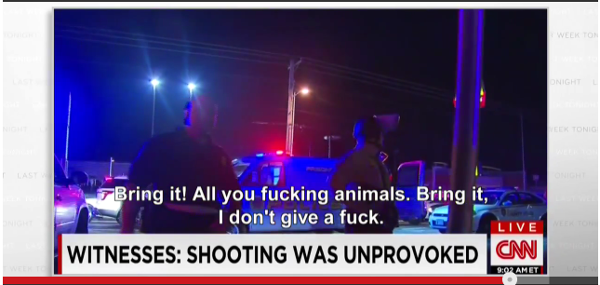 Cops Calling Protesters Animals Ferguson