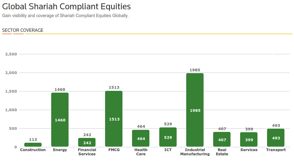 Sharia Shariah Compliant Equities
