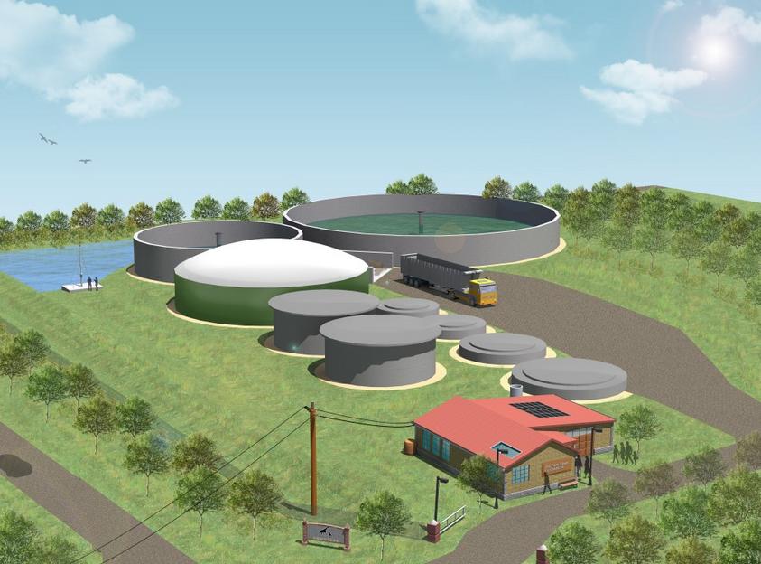 zooshare biogas plant design