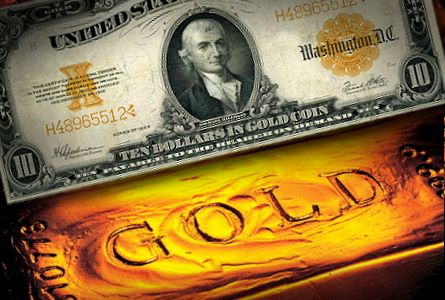 Gold-backed Dollar