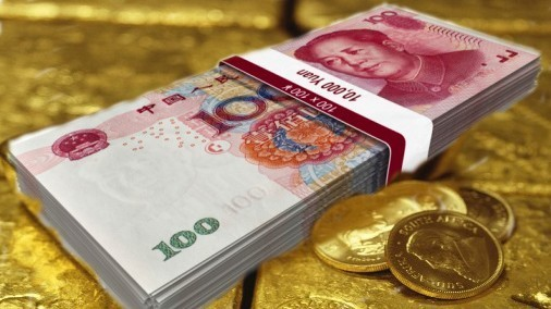 China Money Gold