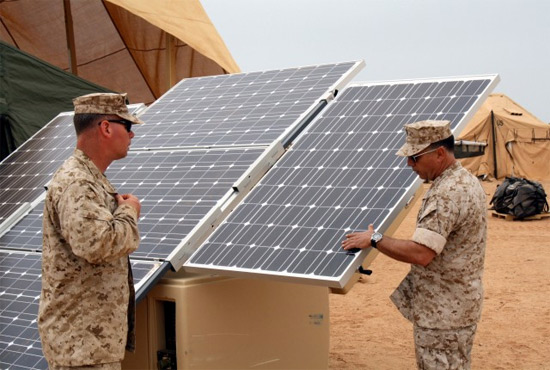 Investing In Military Solar Power