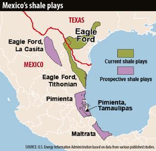 Первая сделка на сланцах Мексики